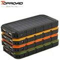 Солнечное Зарядное Устройство Power Bank 6000 МАЧ batterie externe каррегадор де bateria portatil Внешняя Батарея для iPhone SAMSUNG HTC LG PSP