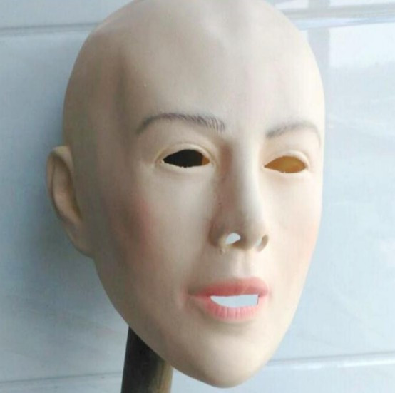 Latex human mask