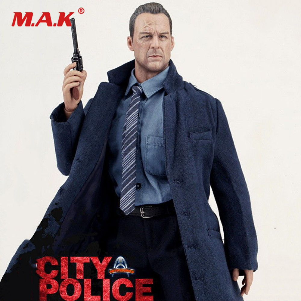 For Collection 1/6 Full Set Art Action Figures City Police AF009 Bruce Willis Action Figure Model Toy 12'' For Fans Holiday Gift 1pcs action figures kids gift collection for hobbyboss 1 48 81736 hawk t mk 127