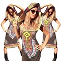 Mulheres Promoção Roupa Robe Africaine Venda Nylon Spandex Africano Africano Vestidos de 2016 Novo Estilo Sexy Roupas Femininas