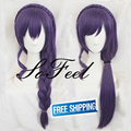 Sofeel braided wigs Love Live Nozomi Tojo snow halation valentine's day purple long wig synthetic lolita wig