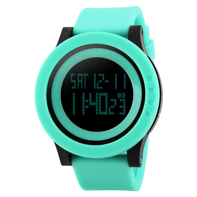 New Sports Man Watch Men Military Fashion Silicone Waterproof LED Digital Watch For Men Clock Man Reloj hombre <font><b>SKMEI</b></font> zk30 1142 image