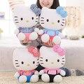 Подлинная Hellokitty кукла плюшевые игрушки, пена частицы очаровательны привет котенок куклы, девушки день подарок, рождественский подарок