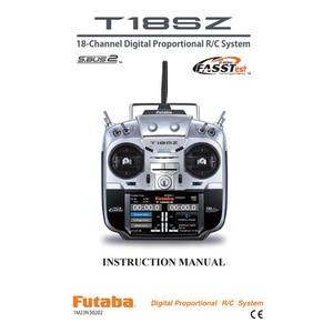 Image 2 - Радиоконтроллер Futaba 18SZ, передатчик с телеметрией, 2,4 ГГц, R7008SB приемник для мультикоптера