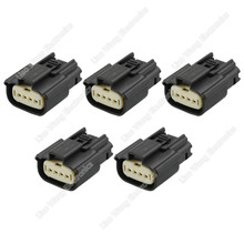 5 Sets 4 Pin car taillights high voltage package plug automotive connector with terminal 33471-0469, DJ7044A-1.2-21