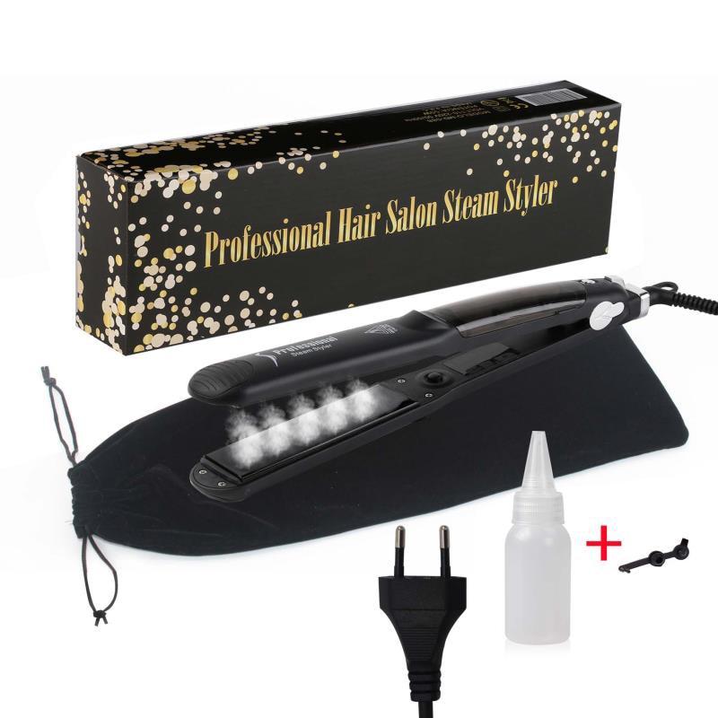 Professional Fast Heating Ceramic Steam Hair Straightener