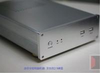 HTPC Mini ITX настольный компьютер Алюминий небольшой компьютерный корпус H61 i3 i5 i7 Atom D525 D2550 D2700 D2800 E350 E340