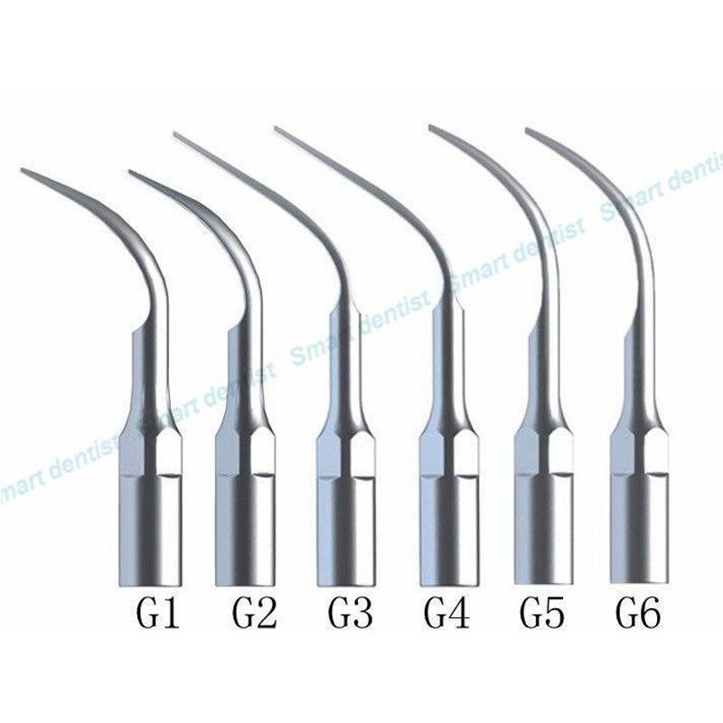 Dental Scaler Tips Ultrasonic Scaler Scaling Tip G1 G2 G3 G4 G5 G6 For EMS WOODPECKER