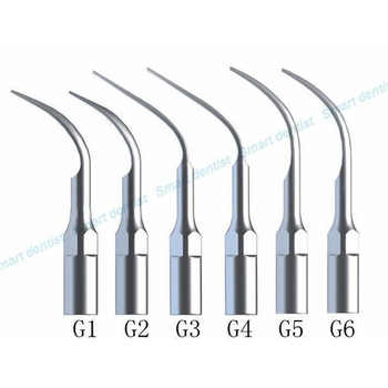 Dental Scaler Tips Ultrasonic Scaler Scaling Tip G1 G2 G3 G4 G5 G6 For EMS/WOODPECKER WITH TIPS Holder - DISCOUNT ITEM  6% OFF All Category