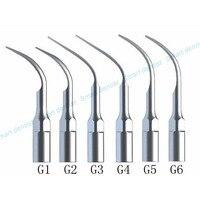 Dental Scaler Tips Ultrasonic Scaler Scaling Tip G1 G2 G3 G4 G5 G6 For EMS/WOODPECKER WITH TIPS Holder