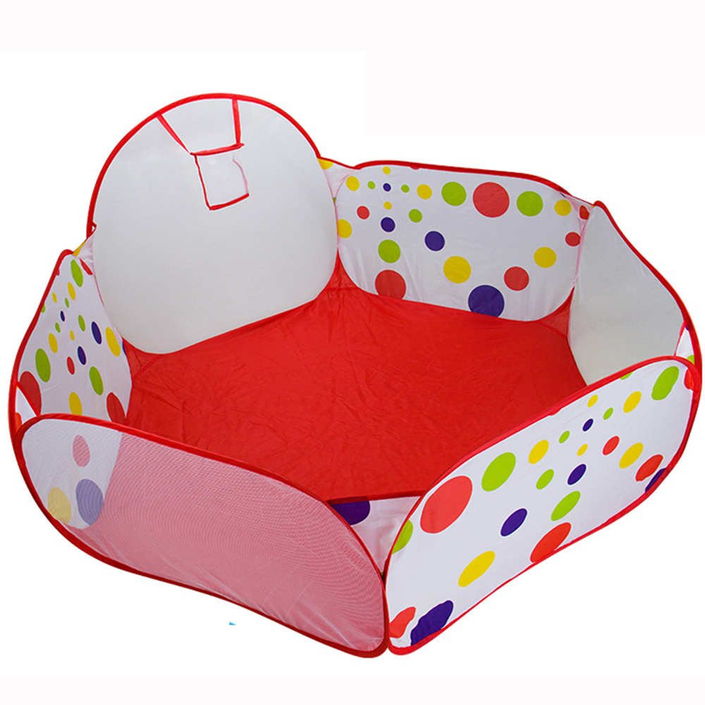 Kids Tent Play Game House Pits Pool Foldable Ocean Ball  Hot New Indoor Outdoor Hut Pool Fun Sports Educational Toy T0075W