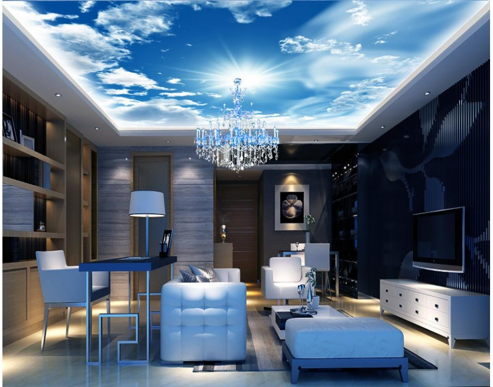 Cloud Living Room Jakarta compare prices on sky wallpaper for ceilings- online shopping/buy