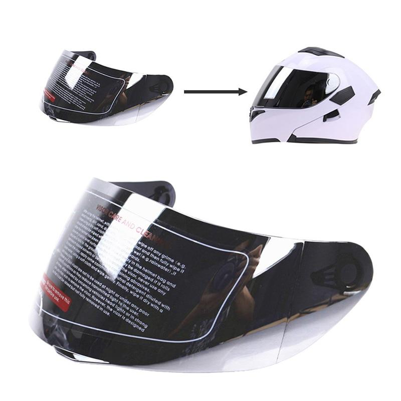 Motorcycle Wind Shield Helmet Lens Visor Full Face Fit For AGV K1 K3SV K5