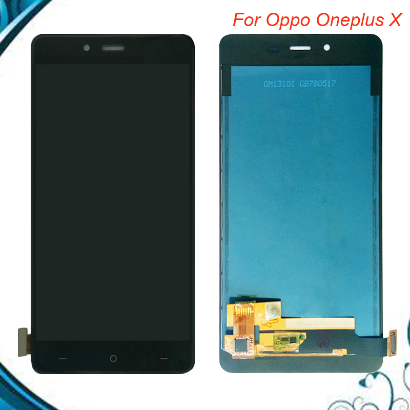 5.01920x1080 For Oneplus X LCD Display Touch Screen 100% Original Digitizer Glass Panel For Oneplus X E1003 Replacement