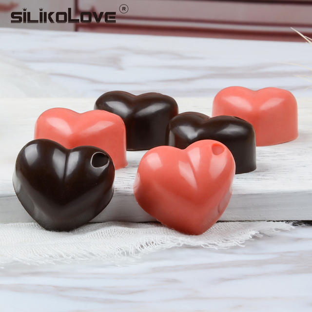 Easy Demoulding Silicone Chocolate Molds for baking letters flower 3d heart shape Bakeware Candy Gummy Tray Cake Moulds