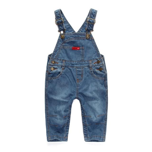 Fashion Retail Baby boy pantalones de mezclilla pantalones de Las Ligas de los pantalones para niños niños pantalones vaqueros Niños pantalones de peto J082