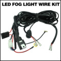 Ca Professioanl 3M 12V 40A LED Work Fog Light Bar Wiring Harness Kit ON/OFF Switch Relay Car Cable KIT