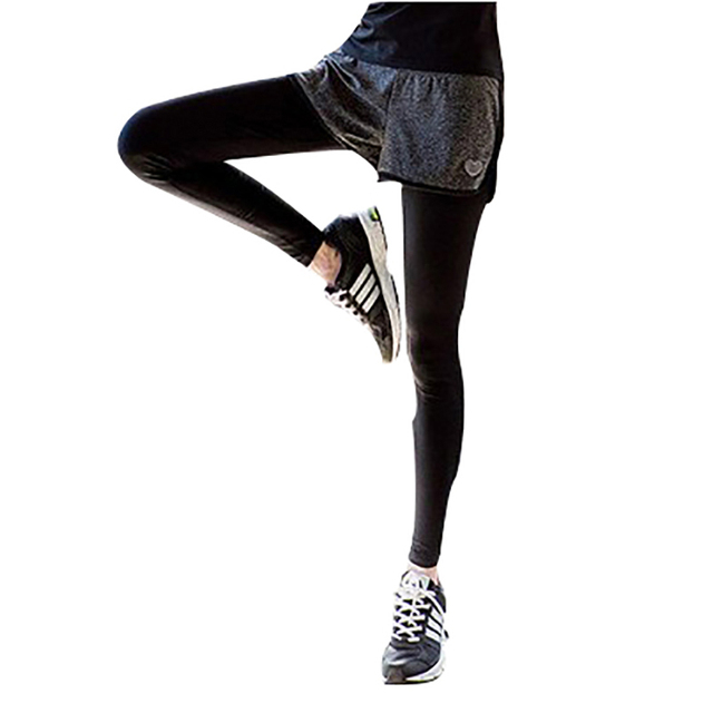 Women Running Shorts/Pants/Cropped Pants Compression Tights Hips Leggings Fitness Cropped Pants Quick Dry Elastic Trousers