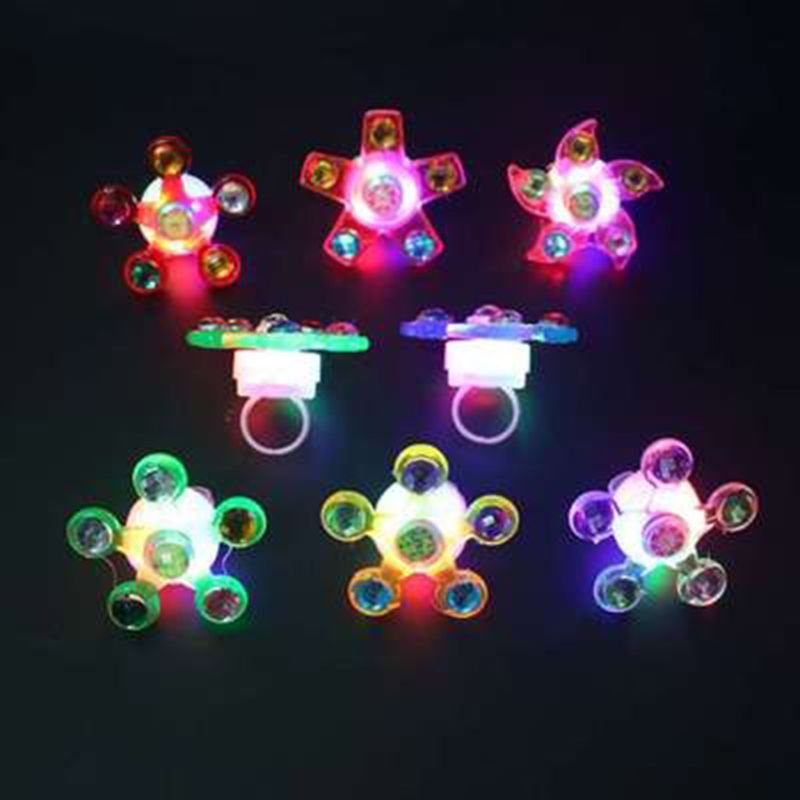 Fidget Spinner Light Up Ring Stress Relief Fidget Toys Supplies Party Favors mustela пена для ванны mustela bebe 8700794 200 мл