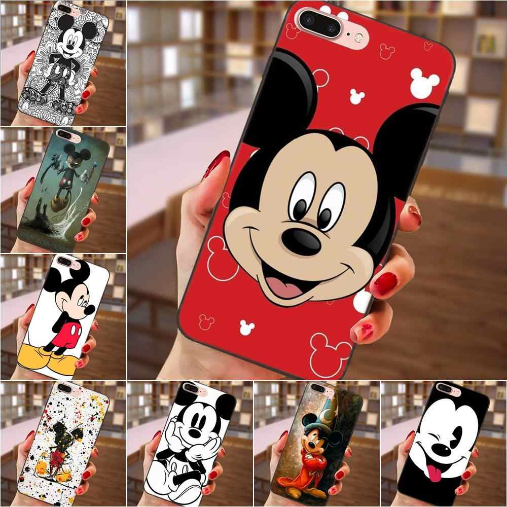 TPU Tas untuk Galaxy C5 C7 J1 J2 J3 J330 J5 J6 J7 J730 2017 ACE Core Duo Max mini Plus Prime Pro Mickey Minnie Mouse
