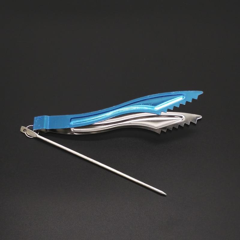 Sawtooth Style Metal Shisha Hookah Charcoal Tongs Tweezers ,or Water Pipe / Sheesha / Chicha / Narguile Accessories Gadget SH105