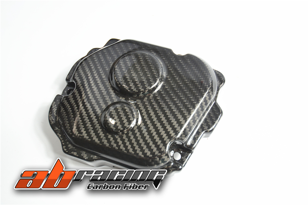 Engine Cover 2 For Kawasaki ZX10R 2016 Full Carbon Fiber 100%  Twill engine cover