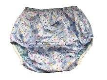 Haian Pour Incontinence Pour Adulte Pull-sur PVC & Print Coton Pantalon # PM003-6