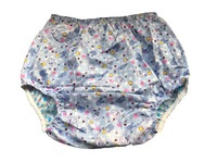 Haian Adult Incontinence Pull On PVC Print Cotton Pants PM003 6