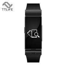 TTLIFE Marke Smart Armband Mit Pulsmesser Abnehmbare Bluetooth-headset Sport Fitness Tracker Remote Camera Smartwatch