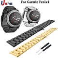 26mm Edelstahl Uhr Band Armband für Garmin Fenix 3 3HR Smart Armband Armband Luxus Sport Ersatz Handgelenk Riemen