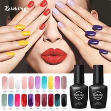 Rolabling New Arrival Color Nail Gel Polish High Quality Long Lasting Gel Lacquer UV/LED Gel Polish For Manicure Art Design