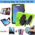 Armor Kickstand Cover For Samsung Galaxy Tab E 9.6 Case High Quality Silicone Cover for Samsung Galaxy Tab E Case T560 T561