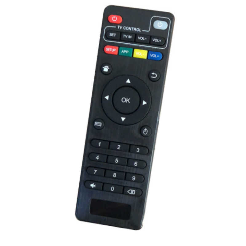 Wireless Remote Control Pengganti untuk H96 Pro/V88/Mxq/Z28/T95X/T95Z Plus/TX3 x96 Mini Android TV Box untuk Android Smart TV Box