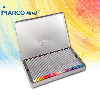 Marco 72 Colored Pencil Raffine Fine Art Pencils For Drawing Oil Base Non-toxic Pencil Set For Artist Sketch Crayons de Couleur
