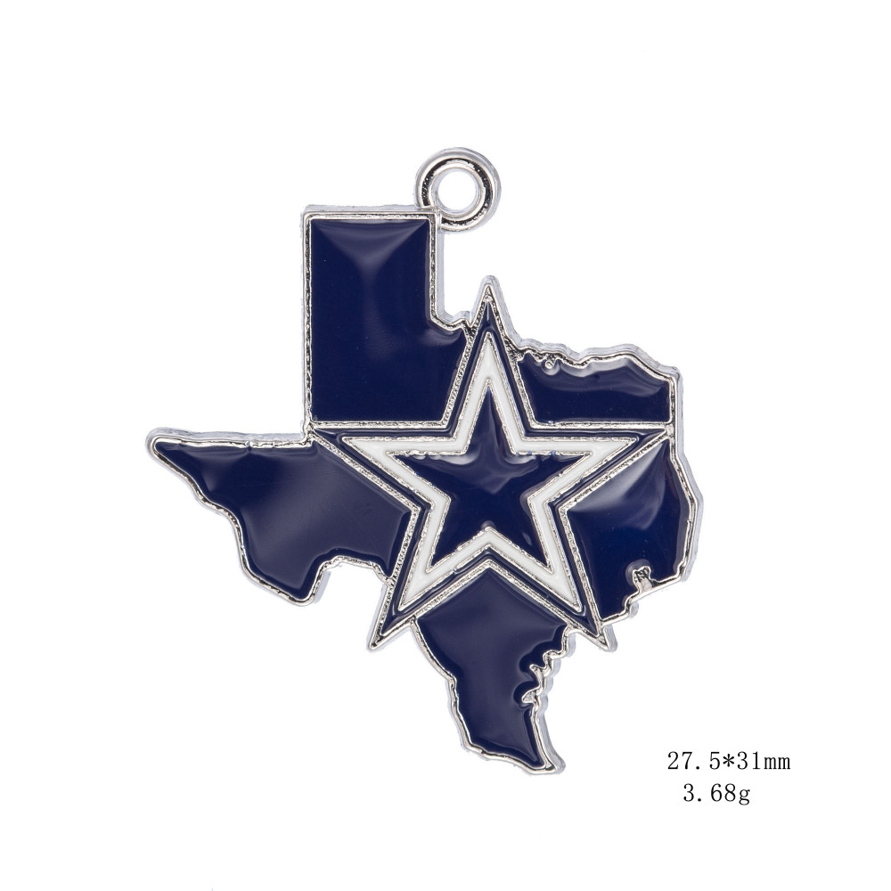 New arrivals football dallas cowboys pendant necklace jewelry 10pcs new arrivals football dallas cowboys pendant necklace jewelry 10pcslot sports dangle charm pendant for fans jewelry in pendants from jewelry accessories aloadofball