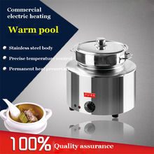 1PC FY-BO-1luxury Stainless steel soup pot 15L thickening soup cooker stoves general sauceboxes soup cooker steamer inox