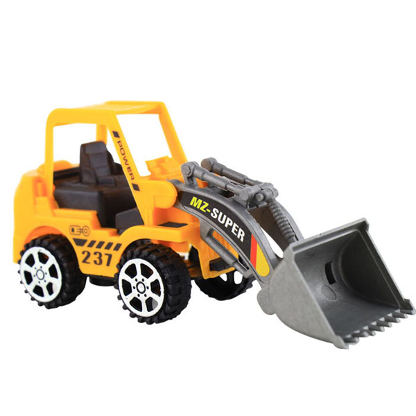 1pc plastic toy vehicles bulldozer truck engineering car building