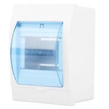 13*9,6*6,5 см 3-4 способа автоматический выключатель Пластиковая распределительная защитная коробка домашняя настенная пластиковая электрическая прозрачная крышка