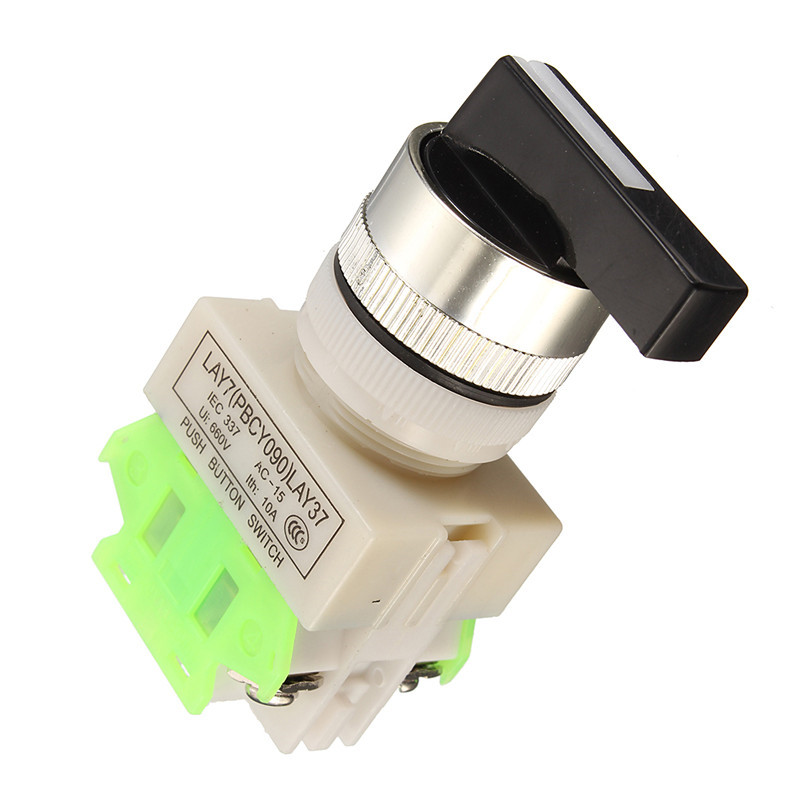 LAY7-20X//3 Rotary Three Position 660V 10A DPST Emergency Stop Button Switch