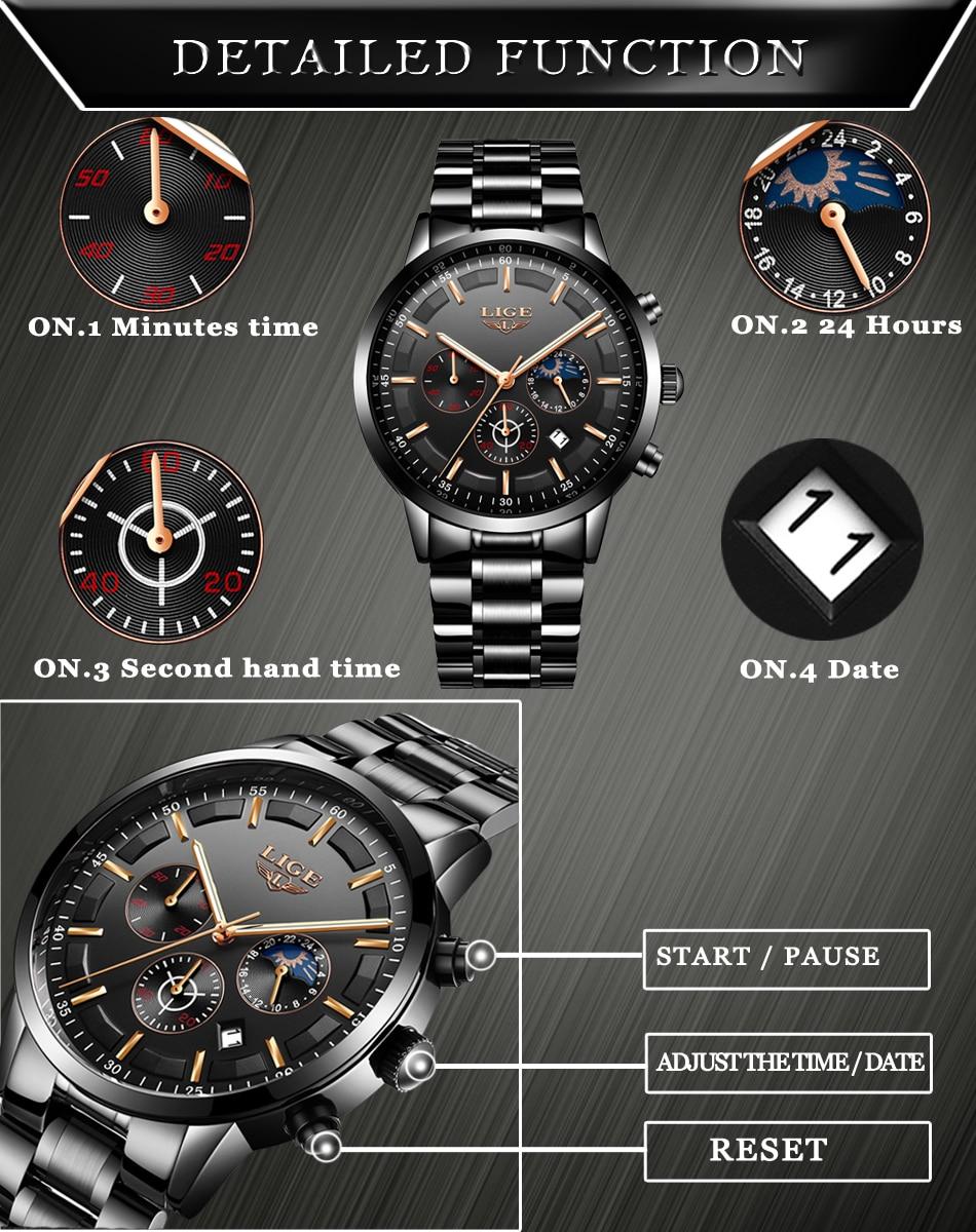 HTB1pHReiCMmBKNjSZTEq6ysKpXaP Relojes Watch Men LIGE Fashion Sport Quartz Clock Mens Watches Top Brand Luxury Business Waterproof Watch Relogio Masculino