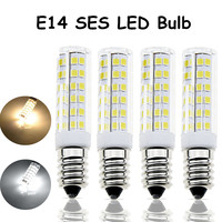 6 Wát E14 SES LED Bulb 5 Wát E14 Thay Thế Halogen 110 V Nhỏ Edison Vít Cơ Sở E14 LED Ngô Light Bulb