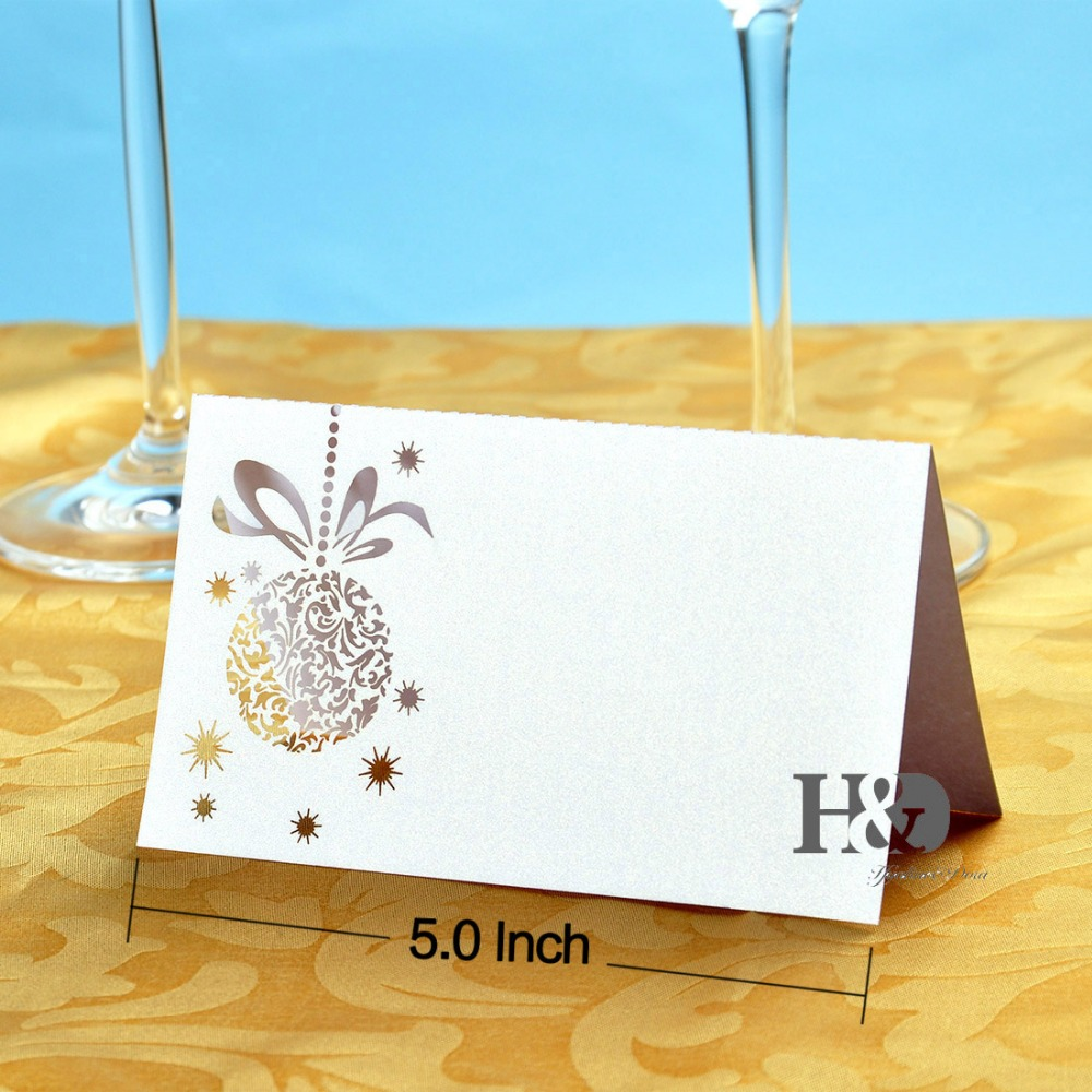 Big Promotion! Laser Cut Wedding Party Table Name Place Cards Favor ...