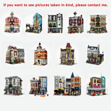 Creator Expert Modular Buildings All Series Classic House Model Collector Blocks City Creator Street View Set Toys For Children(China)