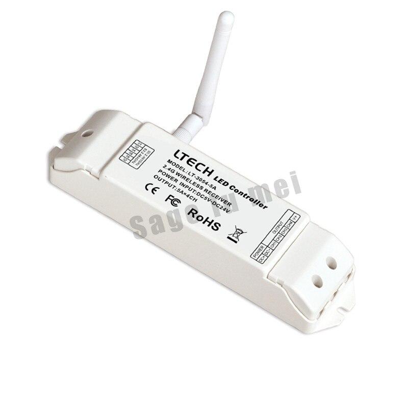 LT-3054-5A;2.4GHZ wireless controller receiver;DC5-24V input;5A*4CH max20A output communication distance 350m sensitivity -96dbmLT-3054-5A;2.4GHZ wireless controller receiver;DC5-24V input;5A*4CH max20A output communication distance 350m sensitivity -96dbm