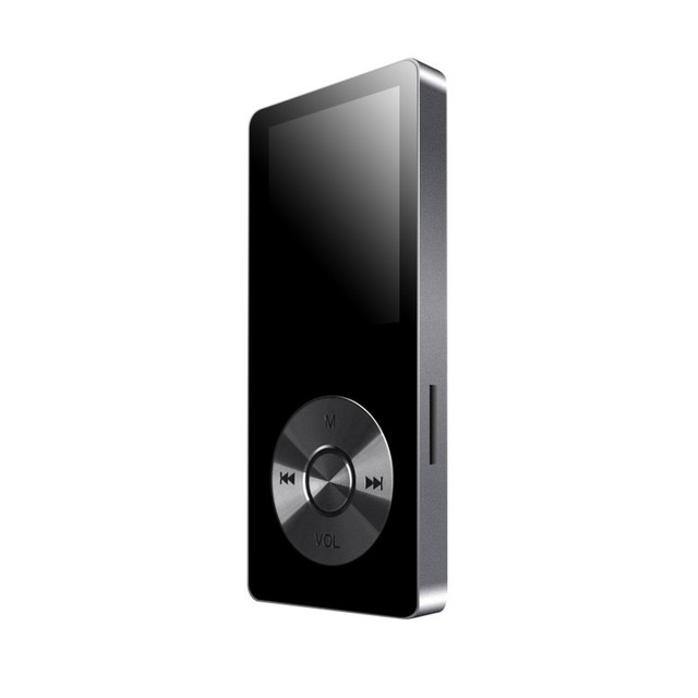 """Nuevo Metal de 1.8 """"Reproductor de Audio FLAC Reproductor de Música Digital Portátil de pantalla Original de la Marca Reproductor de MP3 con FM Radio Grabadora de Voz"""