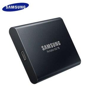 Image 4 - سامسونج t5 المحمولة ssd الخارجية محركات الأقراص الصلبة 250 GB 500 GB 1 تيرا بايت USB 3.1 Gen2 الخارجية وسيط تخزين ذو حالة ثابتة/ القرص الصلب ديسكو دورو ssd المحمولة