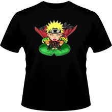 100% Cotton Summer Mens Summer Tops Tees T Shirt Camiseta Manga - Parodia De Naruto Sennin De Naruto Shippudenfunny Cotton Tee(China)