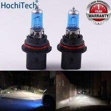 Car Headlight Super Bright Halogen Bulb 1PCS 9004 9007 HB1 12V 6000K Clear Fog Lights 3000Lm 100W Xenon Dark Blue Driving Lamp