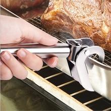 цена на Anti-Scald Scald Heat Proof Pot Pan Gripper for Hot Dishes Dish Plate Bowl Oven Pot holder pot clip