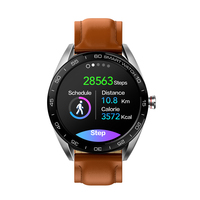 Bakeey K7 מלא מגע צבע מסך חכם שעון פונקציה רב עסקי סגנון HR ולחץ דם צג להזכיר Bule & שן-בשעונים חכמים מתוך מוצרי אלקטרוניקה לצרכנים באתר